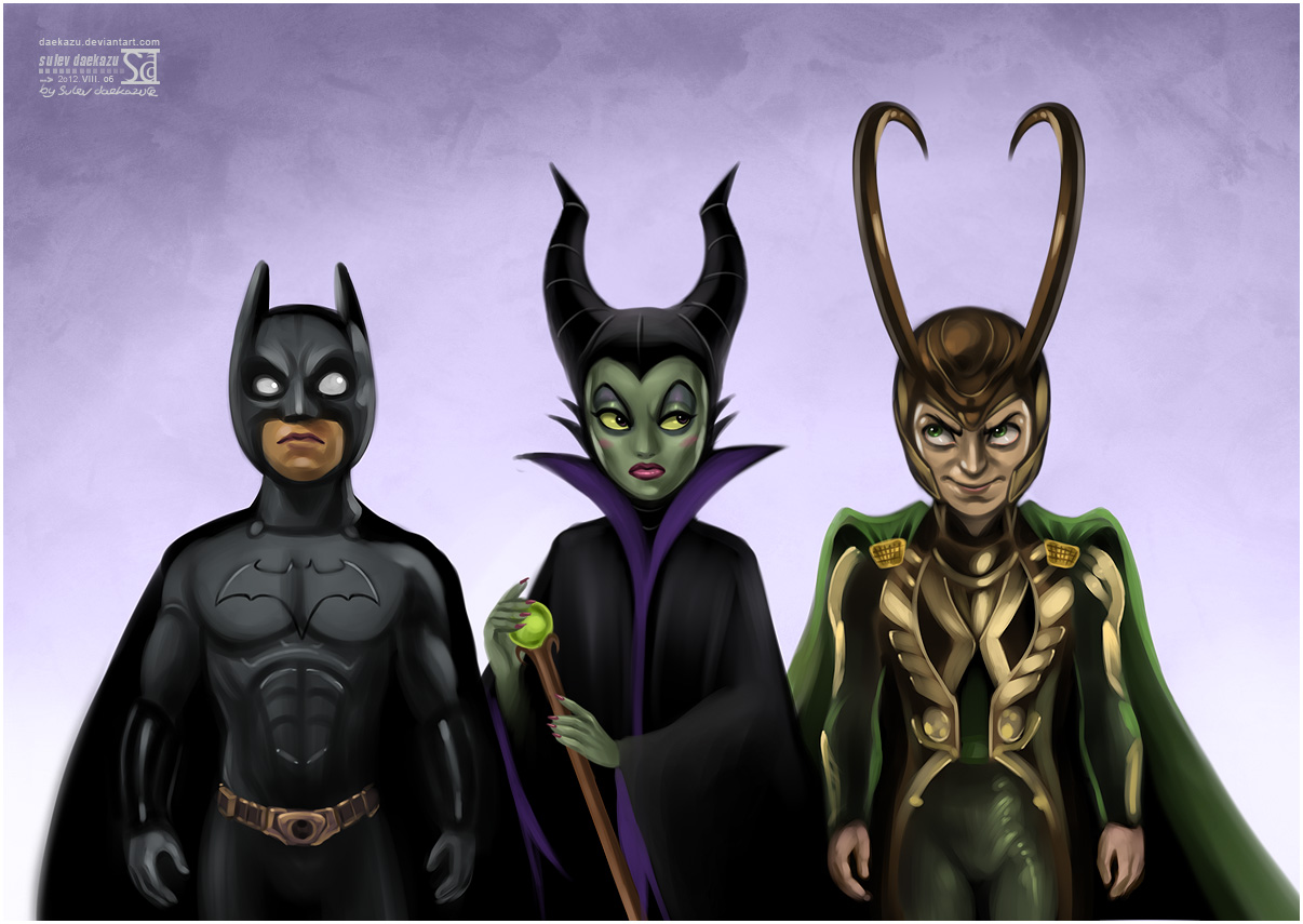 Batman Maleficent And Loki Alternate Universe Know Your