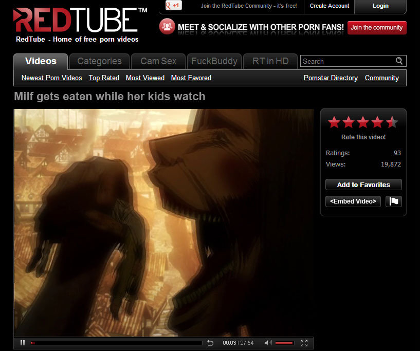 Red Tube Home Of