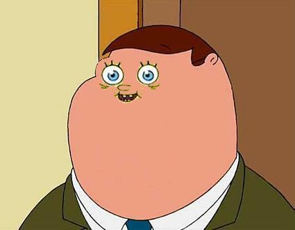 Spongepete Griffbob Family Guy Know Your Meme