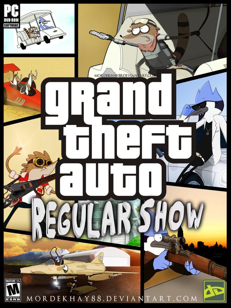 gta regular show regular show know your meme