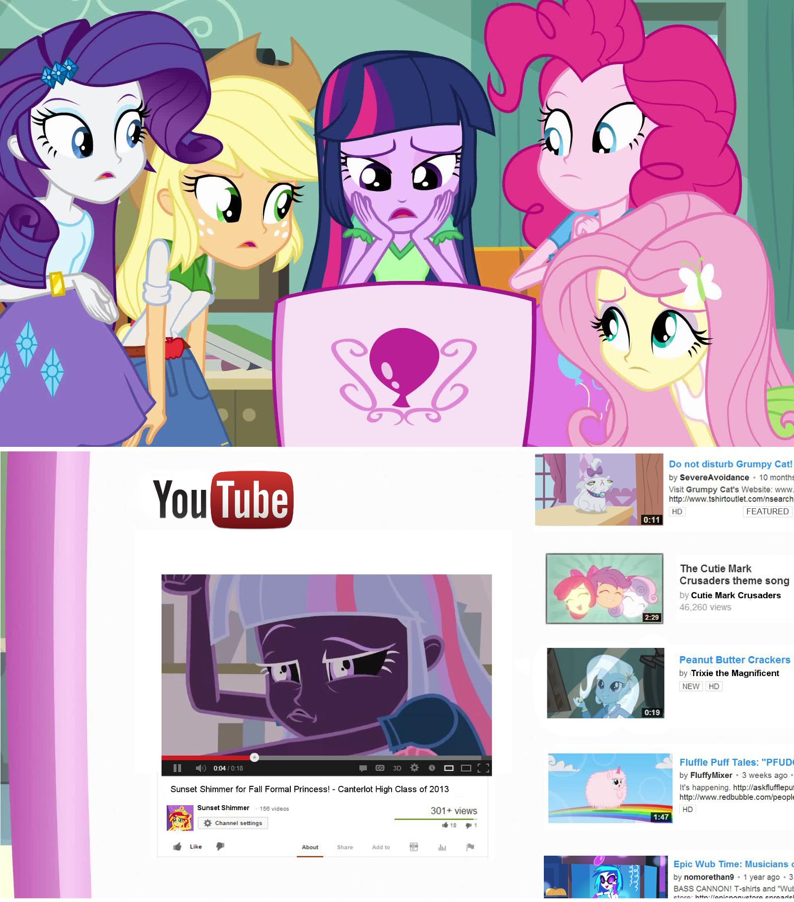 pony youtube video