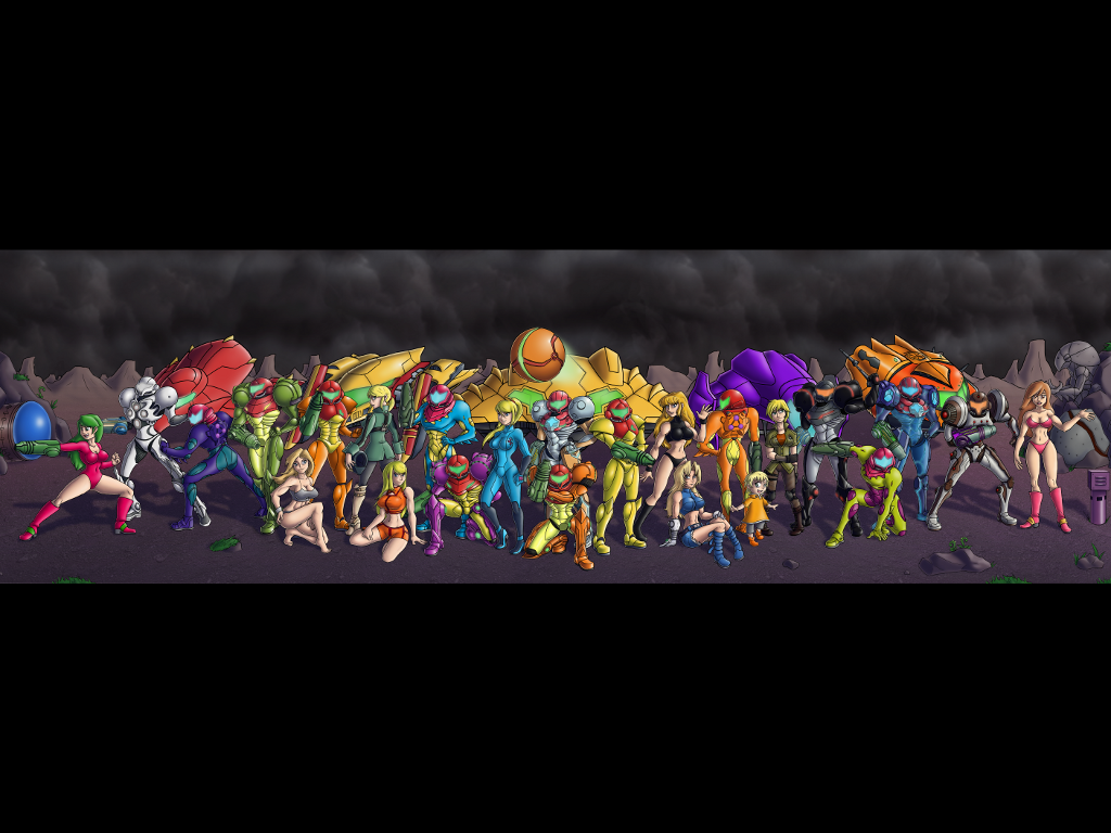 25th anniversary wallpaper metroid know your meme