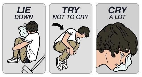 harry styles safety instruction parody lie down try not to cry
