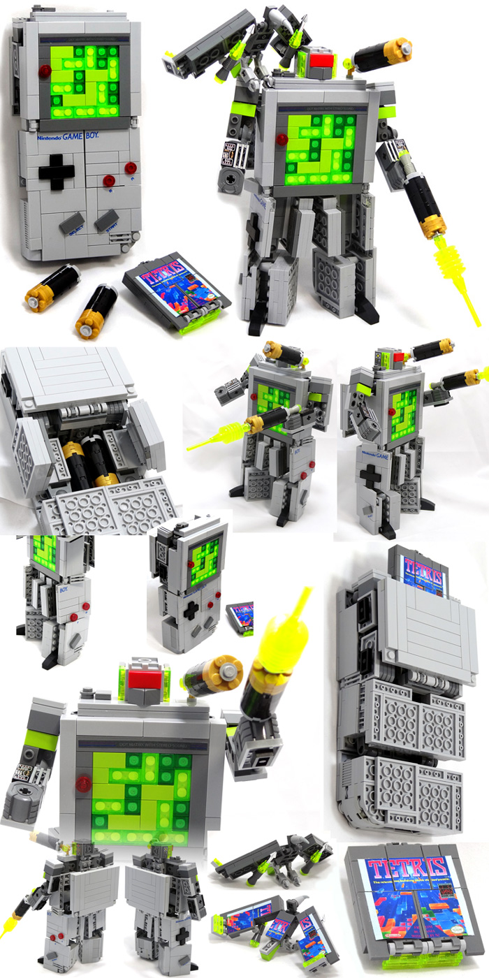 Domaster LEGO GameBoy Complete with robotic birds