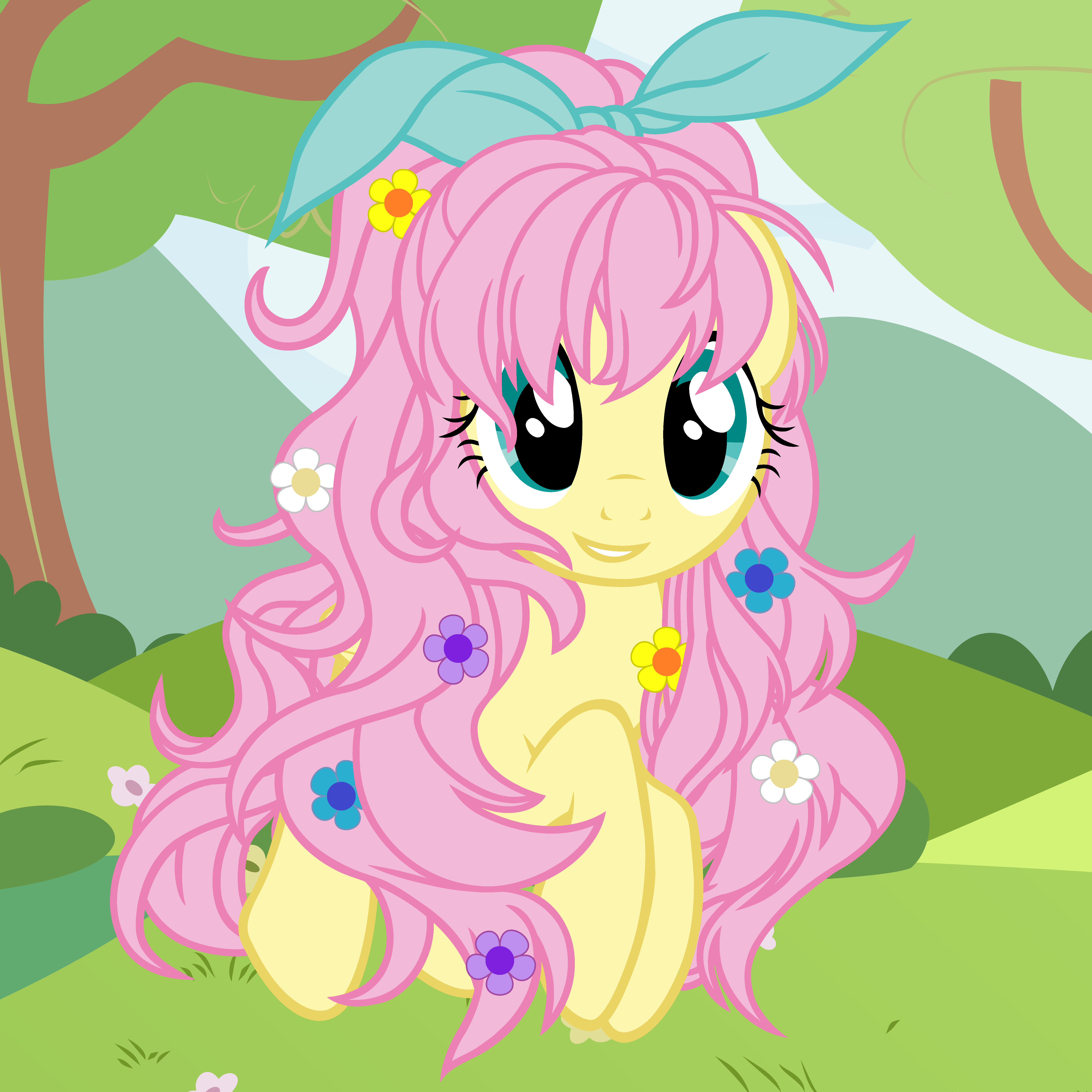 Just be a queen my little pony friendship is magic know your meme fluttershy pinkie pie pony pink mammal flower cartoon vertebrate fictional character anime mythical creature horse like mightylinksfo