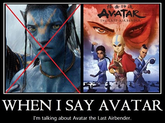When I Say Avatar Avatar The Last Airbender The Legend Of Korra