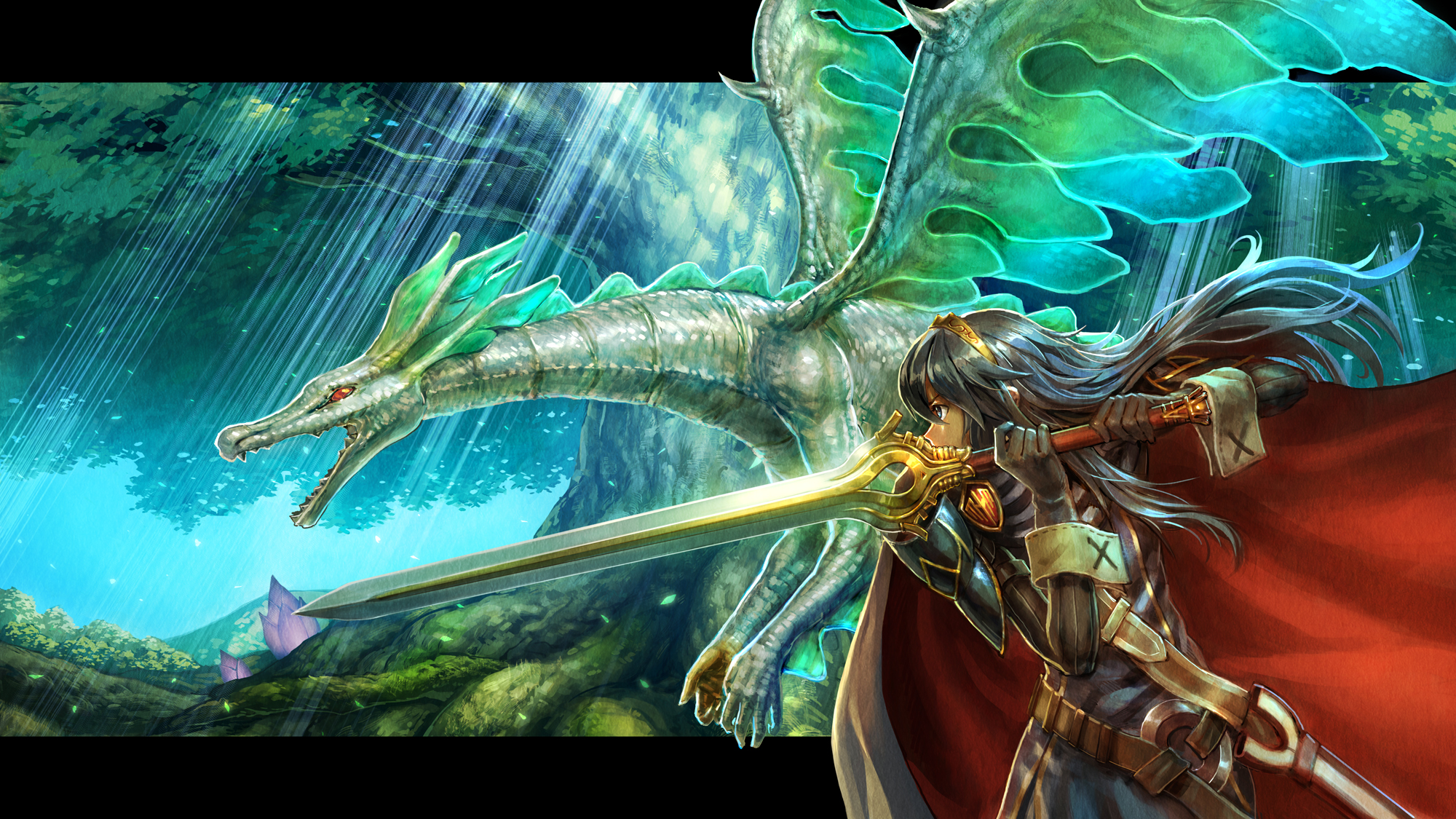 lucina and tiki in dragon form fire emblem know your meme