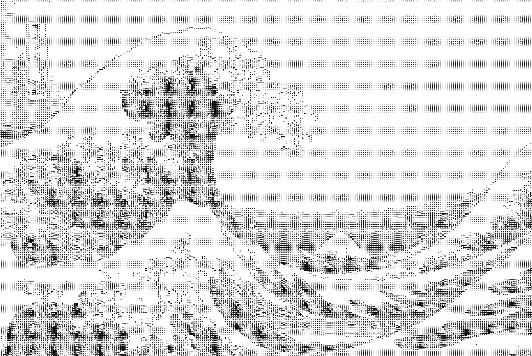 In the well of the great wave of Kanagawa | ASCII Art | Know Your Meme