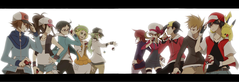 Pokemon Trainers B W Vs 1st 2nd Gen Pokemon Know Your Meme