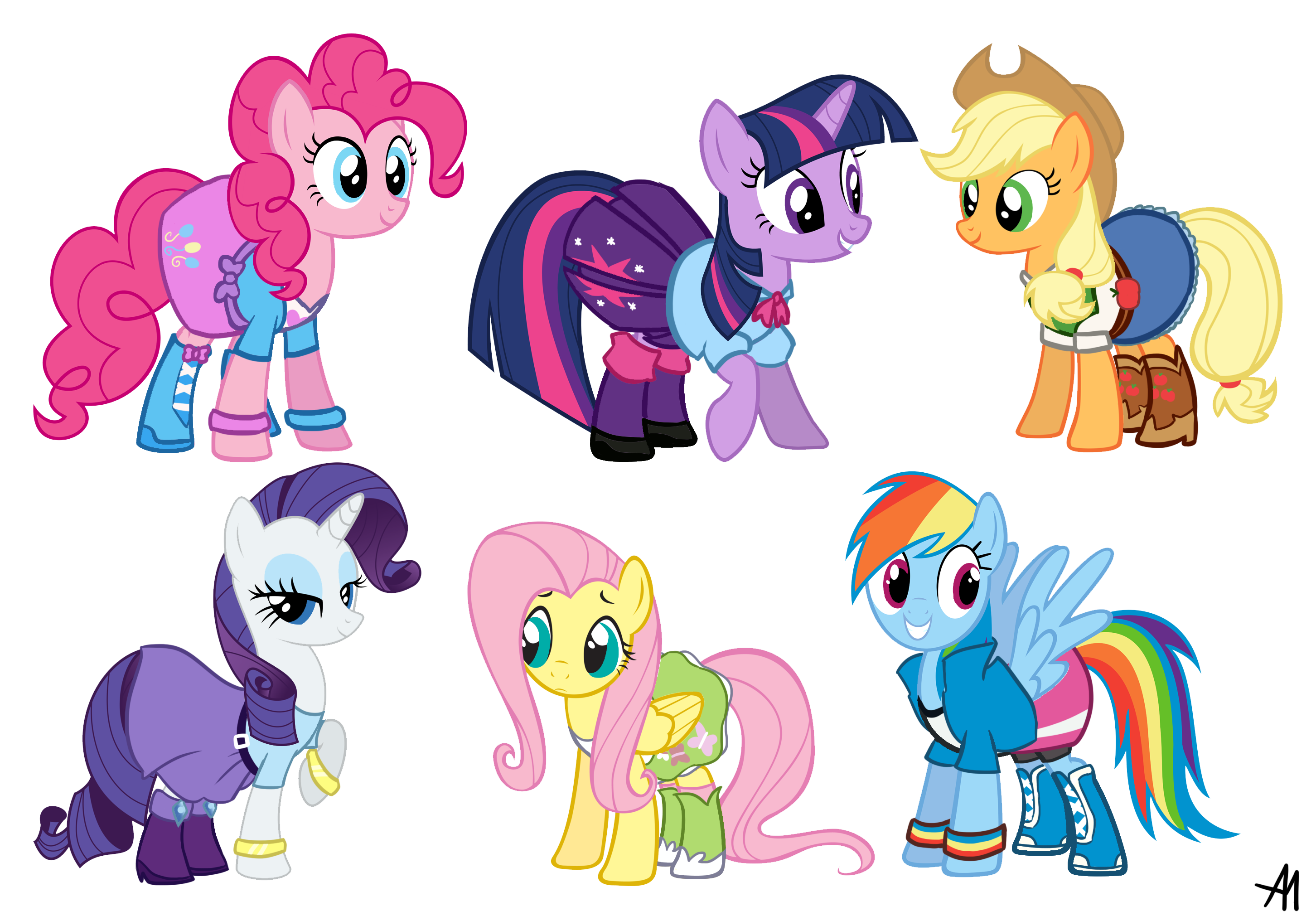 Equestria Girls Outfits My Little Pony Friendship Is Magic Know Your Meme