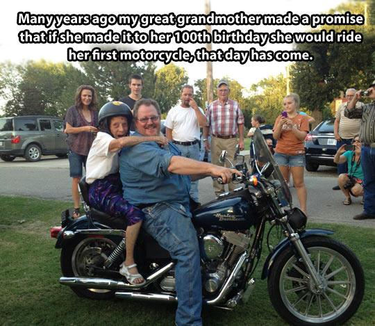motorcycle birthday meme 100th Birthday Accomplishment | Win / Epic Win / For The Win  motorcycle birthday meme