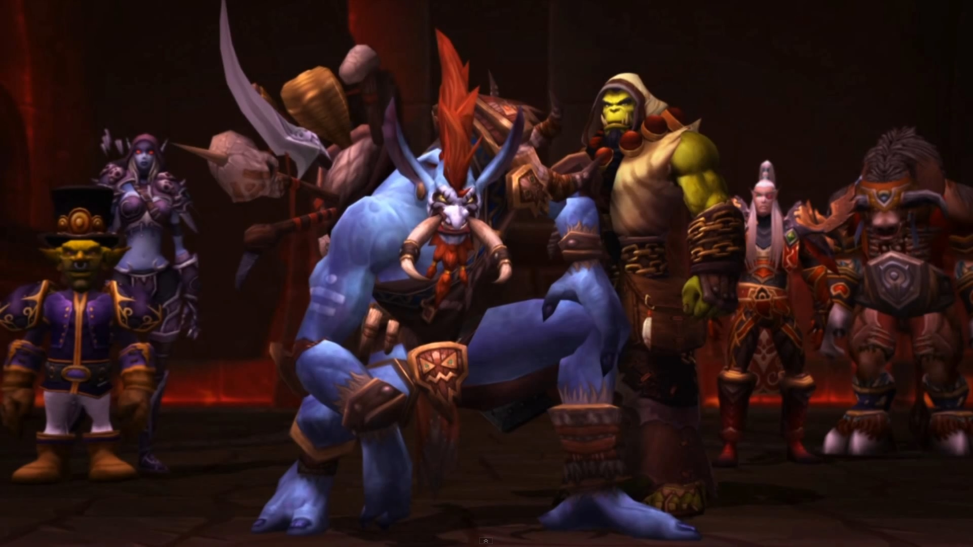 Warchief Voljin And The Horde World Of Warcraft Know Your Meme