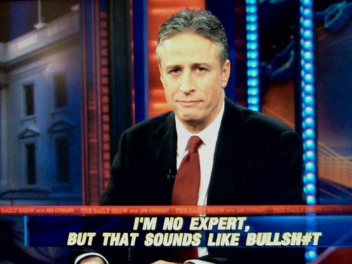 Image result for Jon Stewart bullshit