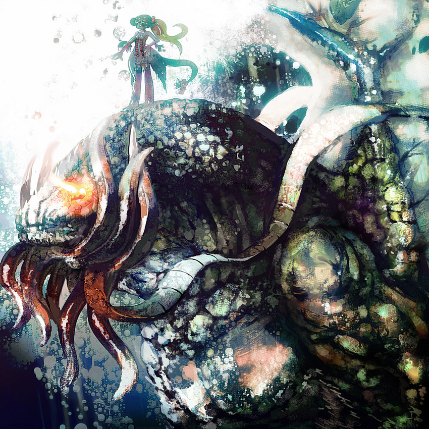 The Call Of Cthulhu Octopus Art Mythical Creature Cephalopod