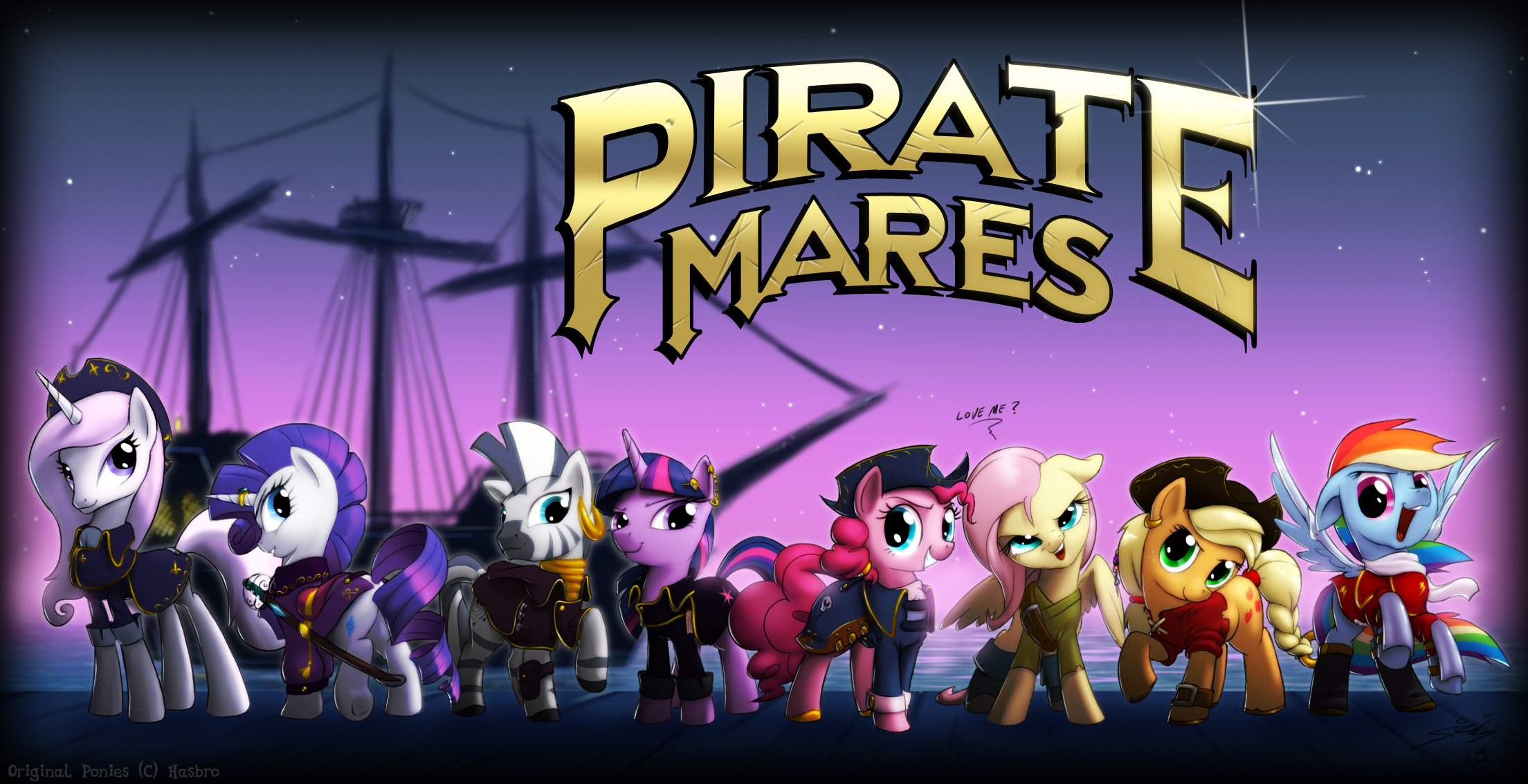 the pirate mares my little pony friendship is magic know your meme