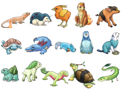realistic starter pokemon pokémon know your meme
