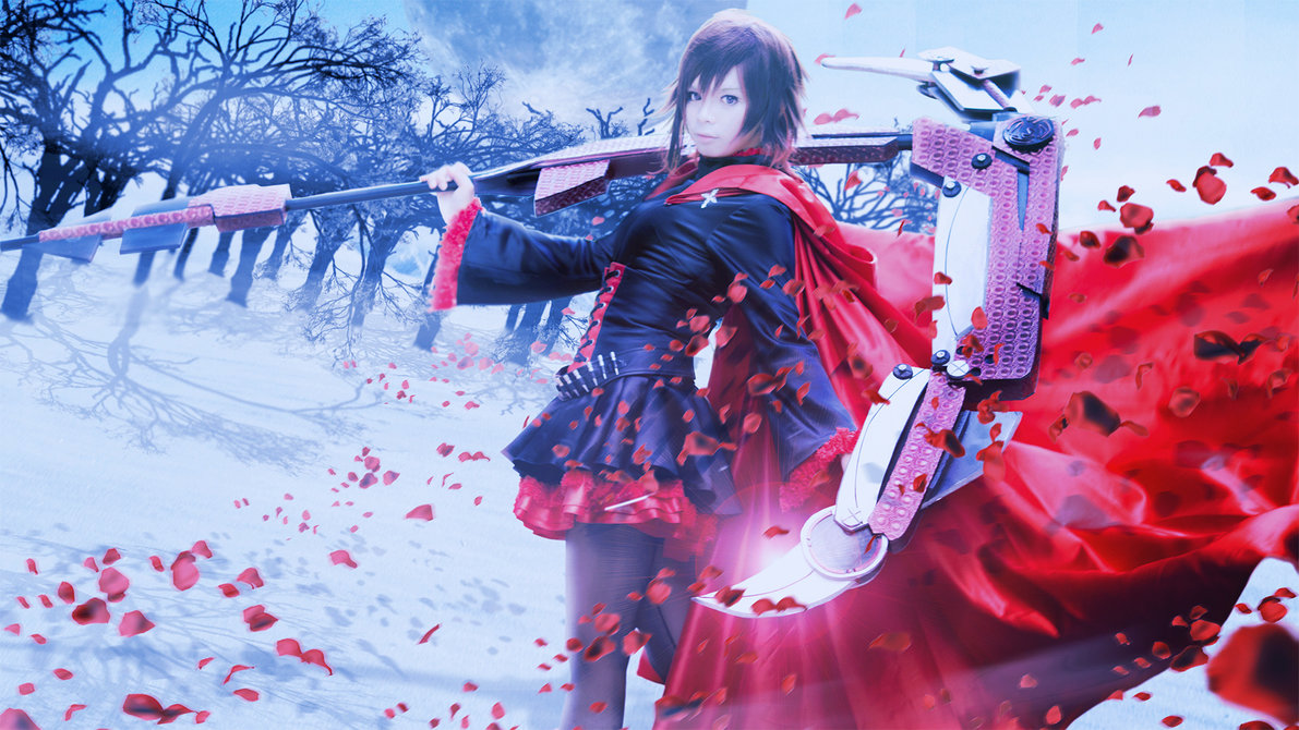 Ruby Rose Cosplay Rwby Know Your Meme