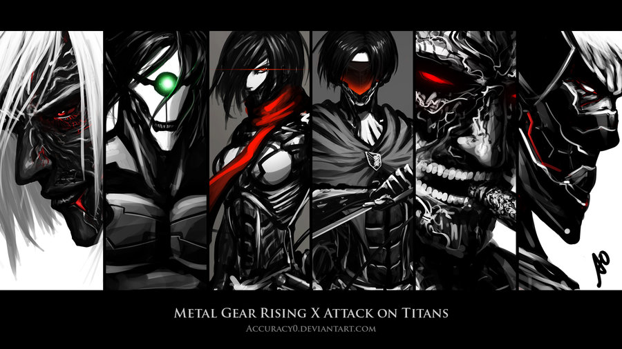 Metal Gear Rising X Attack On Titans Wallpaper Attack On Titan Shingeki No Kyojin Know Your Meme