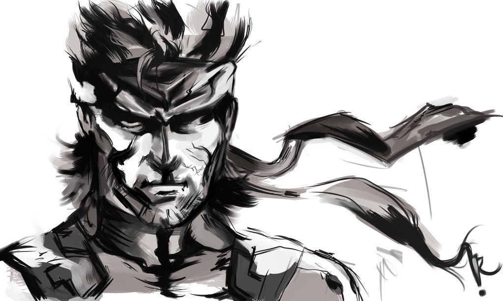 Solid Snake Metal Gear Know Your Meme