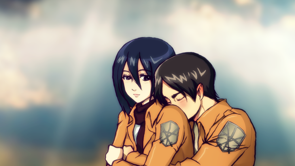 Eren And Mikasa Wallpaper Hd Freewalldroid