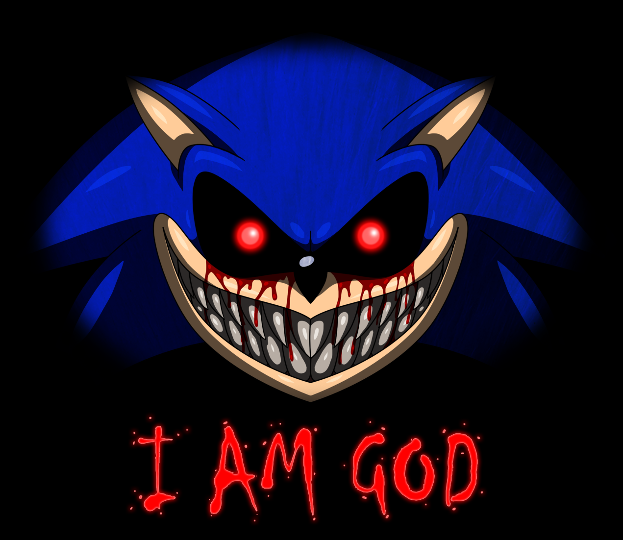 Sonicexe sonicexe know your meme iam god sonic colors tails fictional character computer wallpaper thecheapjerseys Gallery