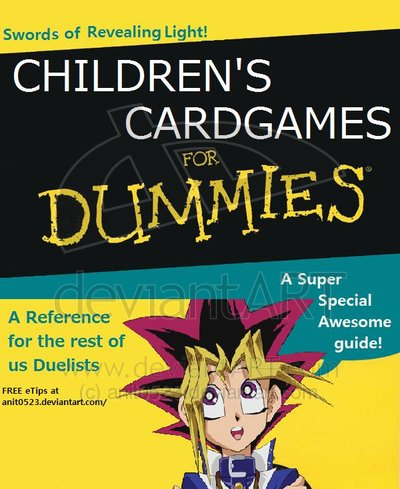 children s card games for dummies x for dummies know your meme