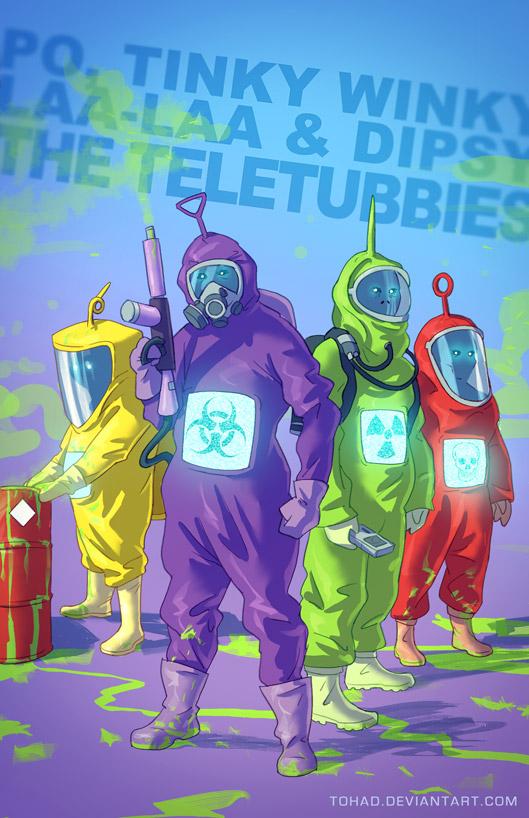 The Teletubbies BADASS | Alternate Universe | Know Your Meme