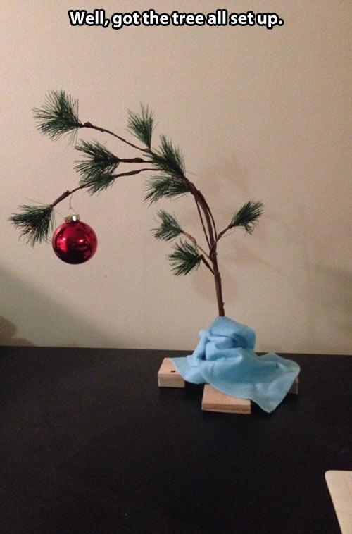 Charlie Brown Christmas Tree Childhood Enhanced Know Your Meme