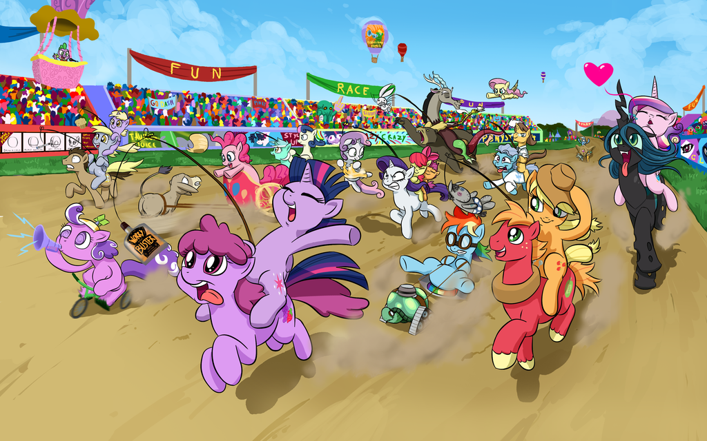 fun race my little pony friendship is magic know your meme