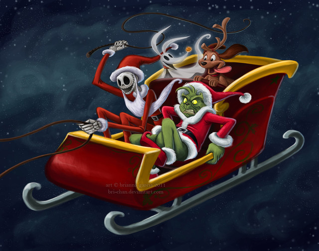 Jack Skellington Christmas.Christmas Hijackers The Nightmare Before Christmas Know