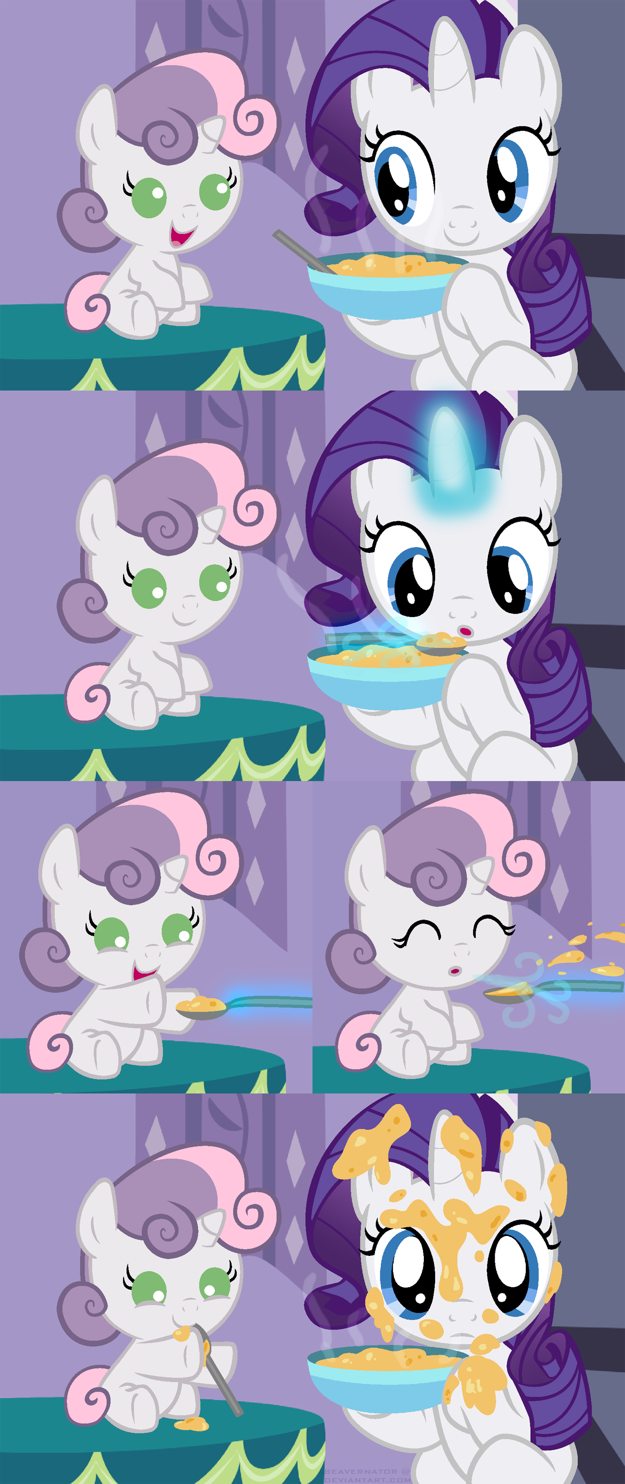 Spoonfeeding Sweetie Belle My Little Pony Friendship Is Magic Know Your Meme I've posted the rest in t. spoonfeeding sweetie belle my little