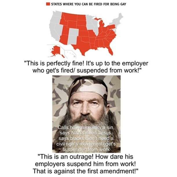 duck dynasty hypocrisy duck dynasty controversy know your meme