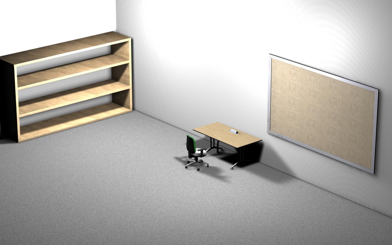Furniture Desk Floor