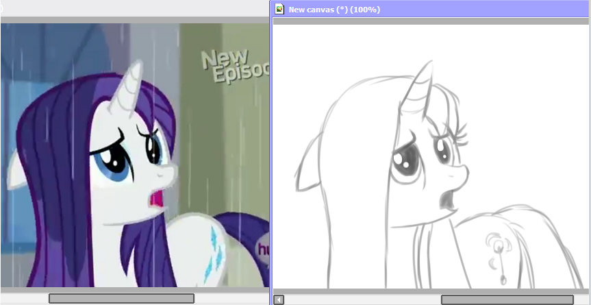 I Look Like Rarity With Her Hair Down Celery My Little Pony