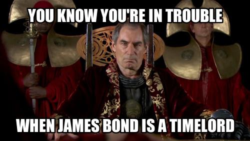 Whovian James Bond Crossover