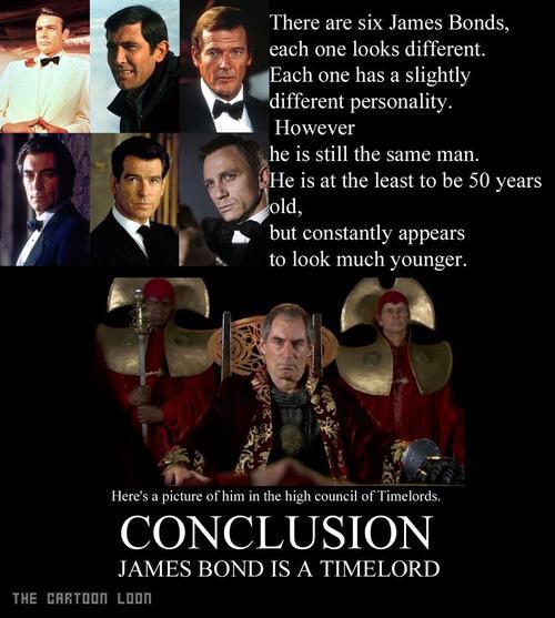 James Bond The Reasoning