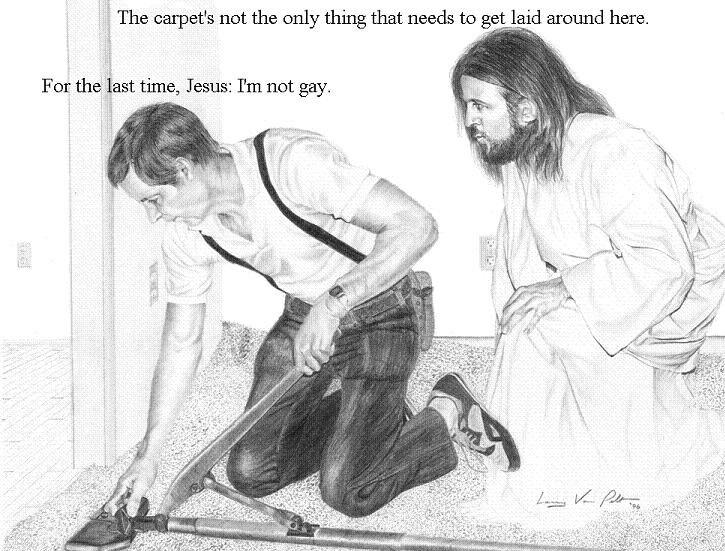 Jesus agrees get the fuck out