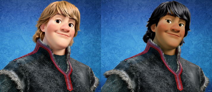 racebent kristoff disney s frozen whitewashing controversy know