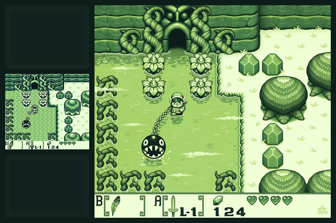 Zelda: Link's Awakening Fanart Remake by Einen | The Legend of Zelda