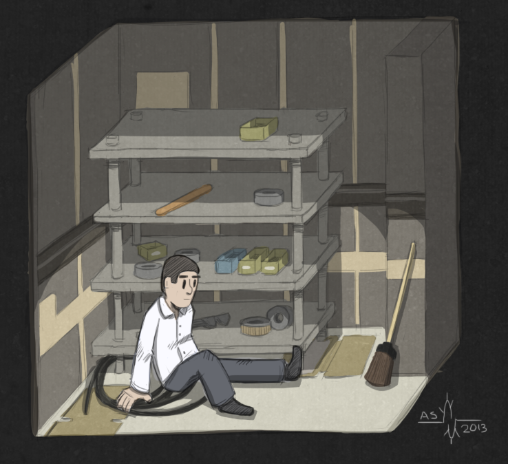 The Stanley Parable Broom Closet Ending