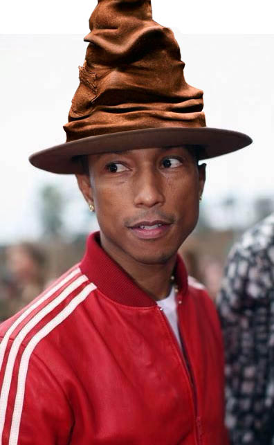 Pharrell Williams hat fedora headgear fashion accessory 6b112aa2b2c