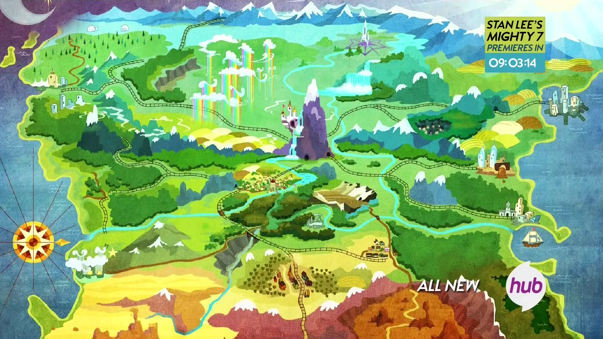 My Little Pony Map Map of Equestria | My Little Pony: Friendship is Magic | Know Your