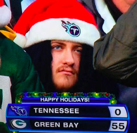 Green Bay's gift to Titans fans everywhere.   FAIL / Epic Fail   Know Your  Meme