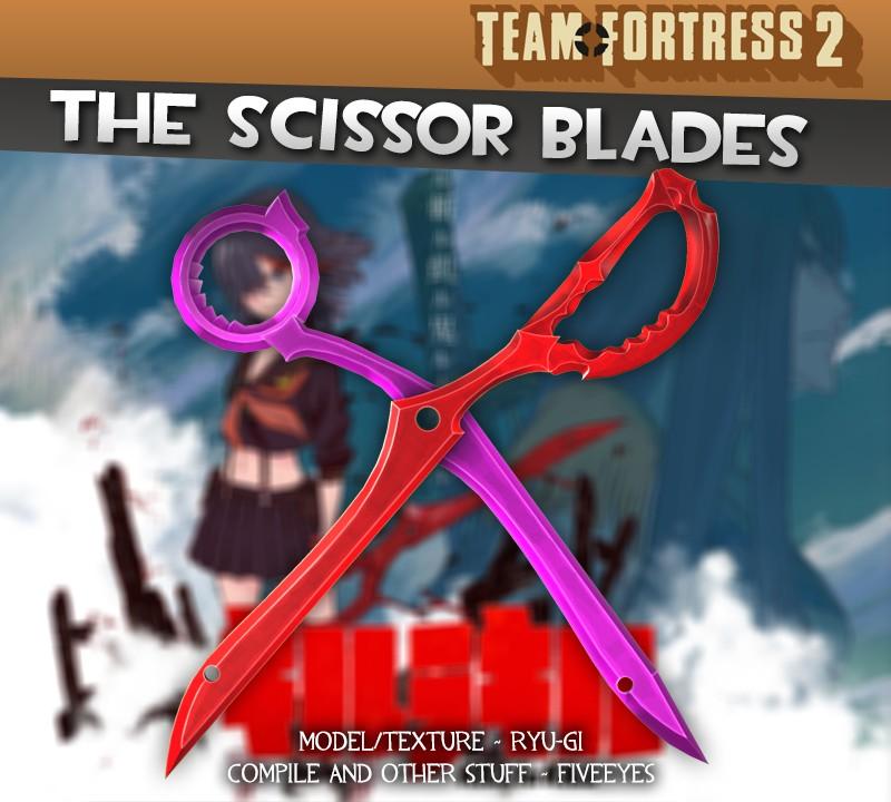 Scissor Blade Mod for Team Fortress 2 Release Promo2   Kill
