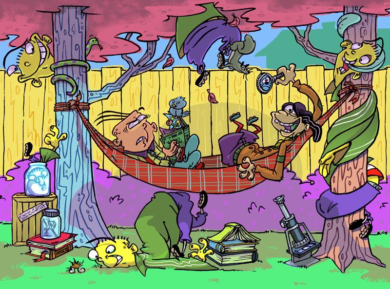 Cartoon Art Vertebrate Fictional Character Fiction Comics Illustration