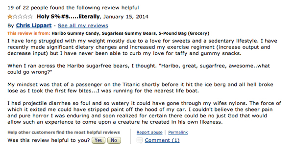 image 697692 haribo sugarless gummy candy reviews know your meme