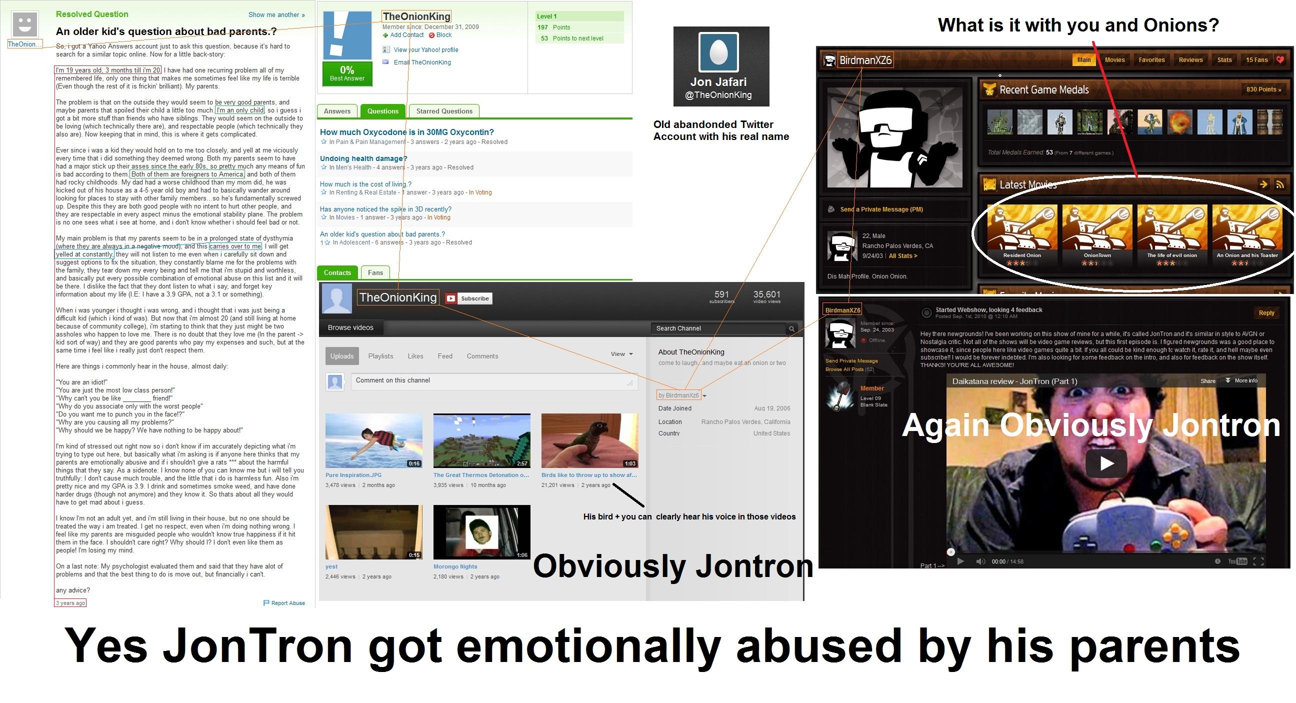 Jontrons Parents Were Emotionally Troubling Jontron Jon Jafari