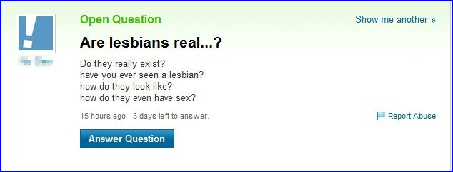 Is homosexuality bad yahoo
