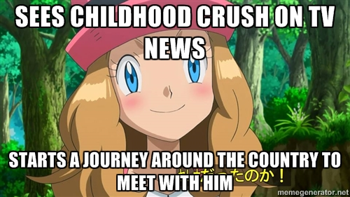 overly attached serena
