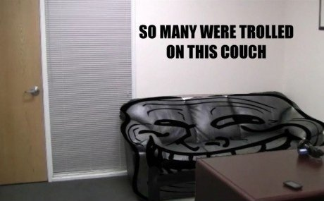 Troll Couch is Troll | The Casting Couch | Know Your Meme